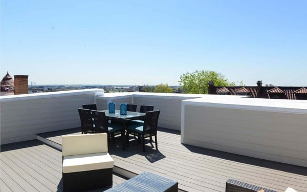 6 Unit Condo Building in DC Rooftop Deck