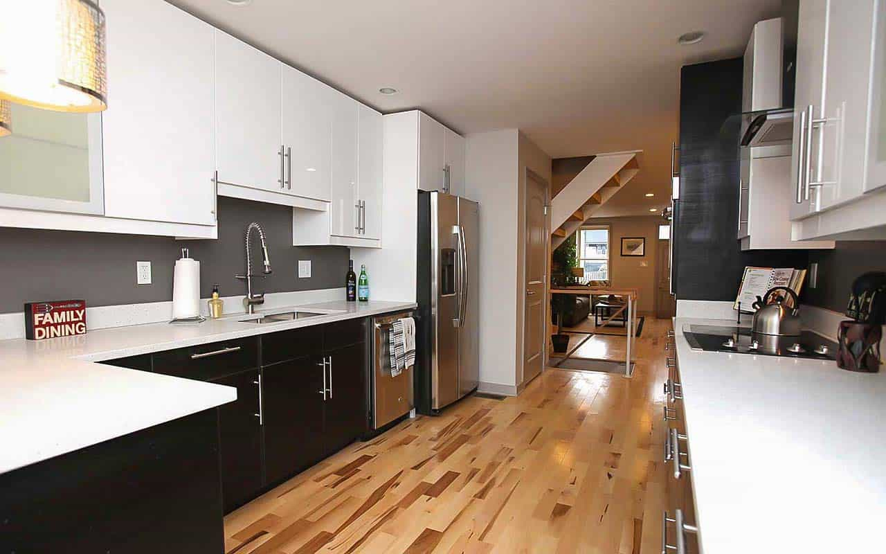 New Construction Row Home in Baltimore Kitchen