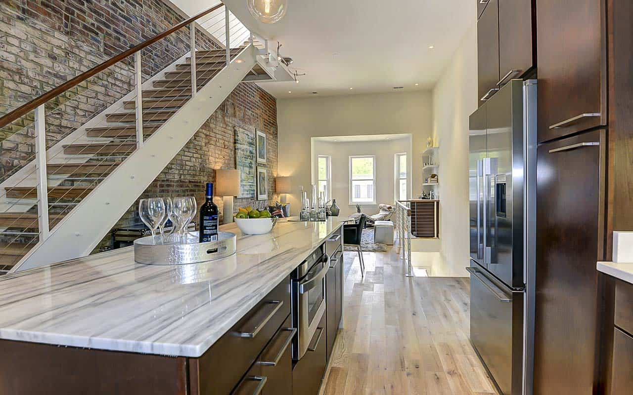 Washington DC Duplex Kitchen