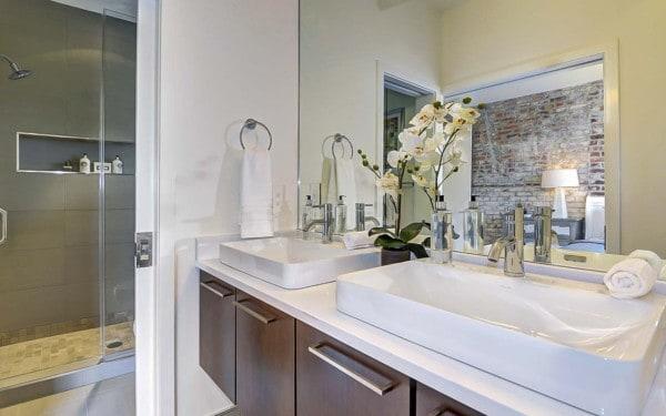 Washington DC Duplex Bathroom