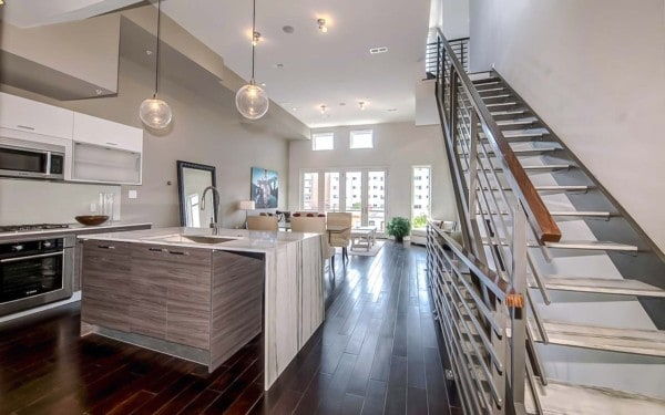 Multi-Family Condo Custom Stairs