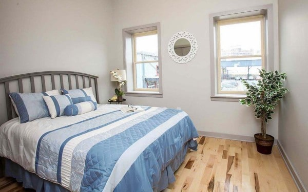 New Construction Row Home in Baltimore Bedroom